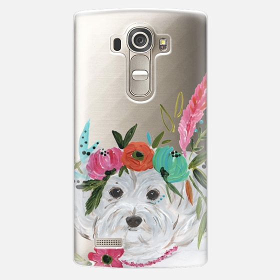 LG G4 Case - Boho Maltipoo by Bari J. Designs