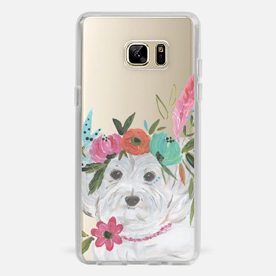 Galaxy Note 7 Case - Boho Maltipoo by Bari J. Designs