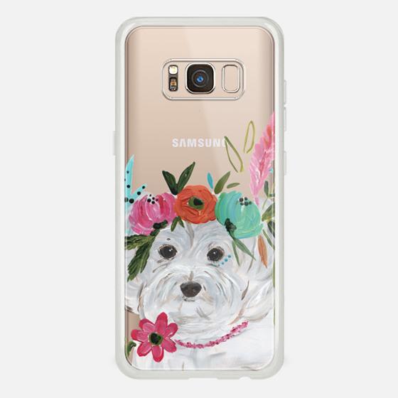 Galaxy S8 Case - Boho Maltipoo by Bari J. Designs