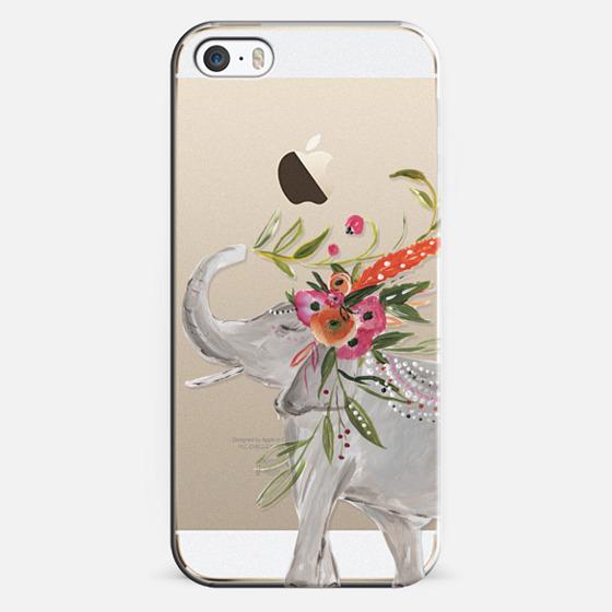 iPhone 5s Case - Boho Elephant by Bari J. Designs