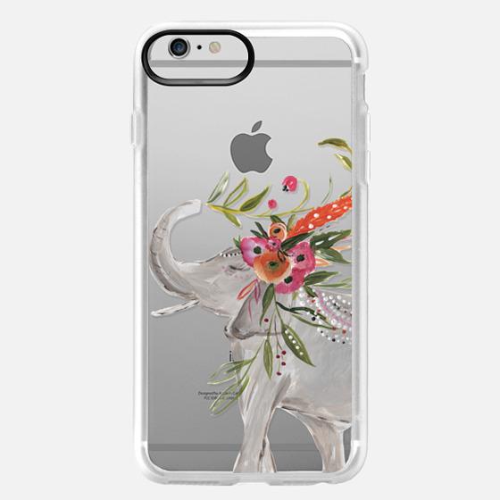 iPhone 6 Plus Case - Boho Elephant by Bari J. Designs