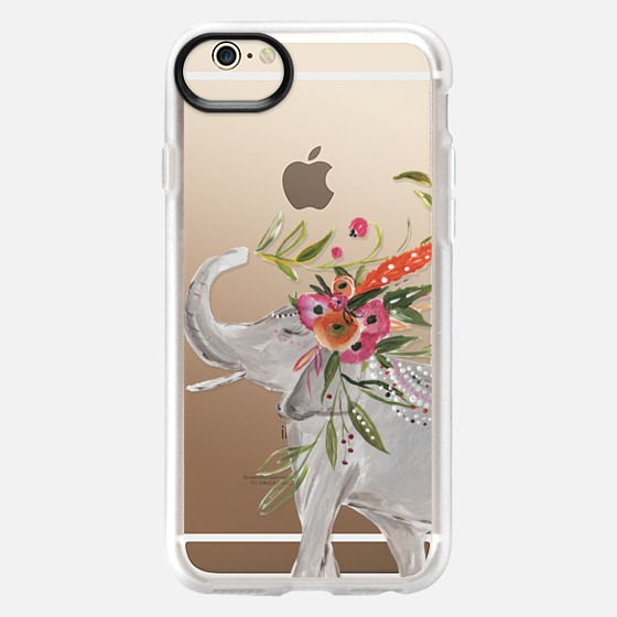 iPhone 6 Case - Boho Elephant by Bari J. Designs