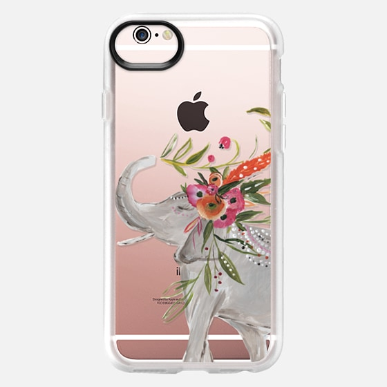 iPhone 6s Case - Boho Elephant by Bari J. Designs