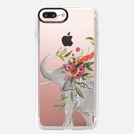iPhone 7 Plus Capa - Boho Elephant by Bari J. Designs
