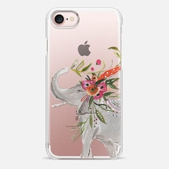 iPhone 7 Case Boho Elephant by Bari J. Designs