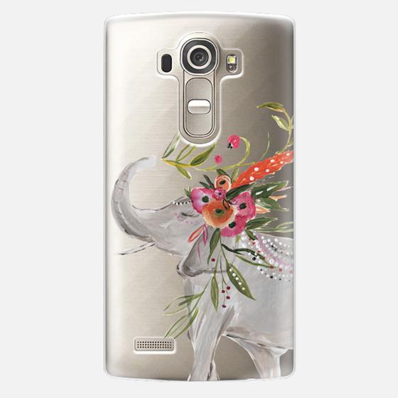 LG G4 Case - Boho Elephant by Bari J. Designs