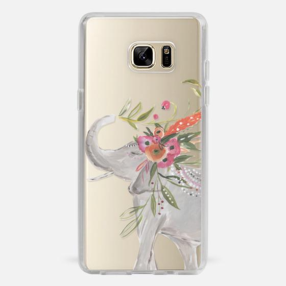 Galaxy Note 7 Case - Boho Elephant by Bari J. Designs
