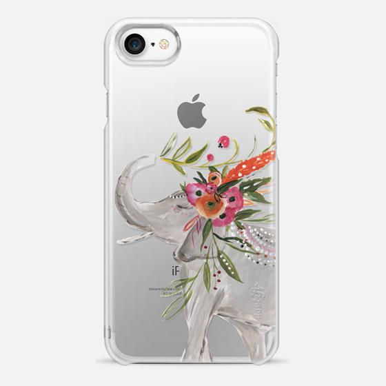 iPhone 7 保護殼 - Boho Elephant by Bari J. Designs