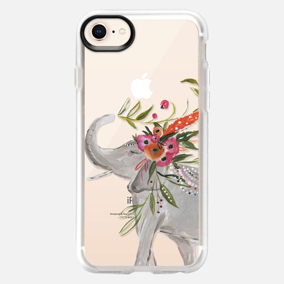 iPhone 8 Hülle - Boho Elephant by Bari J. Designs