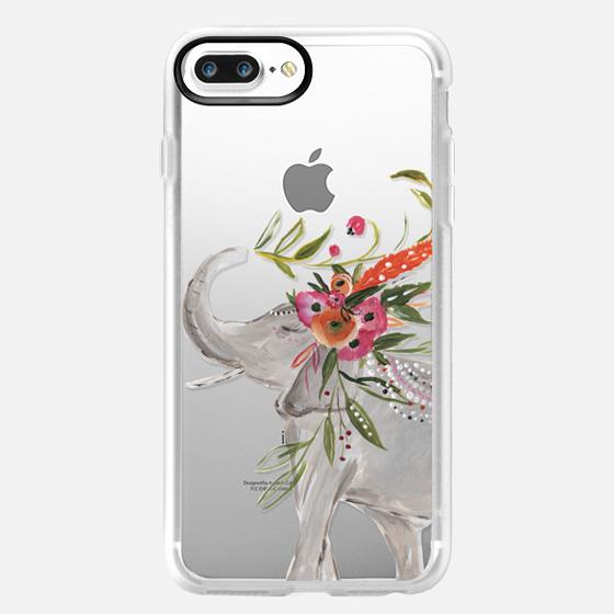 iPhone 7 Plus ケース - Boho Elephant by Bari J. Designs
