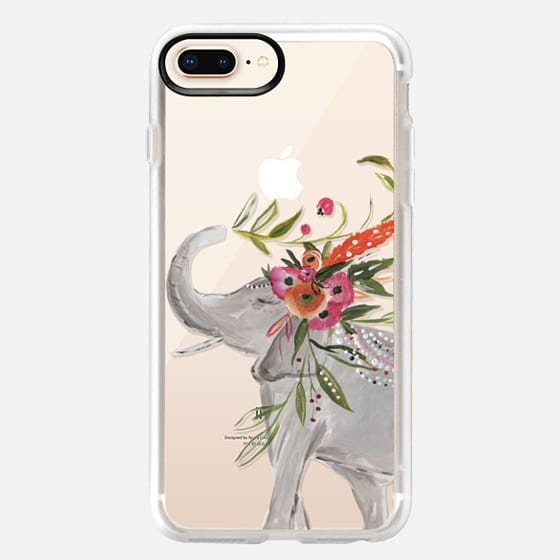 iPhone 8 Plus Case - Boho Elephant by Bari J. Designs