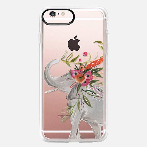 iPhone 6s Plus Case - Boho Elephant by Bari J. Designs