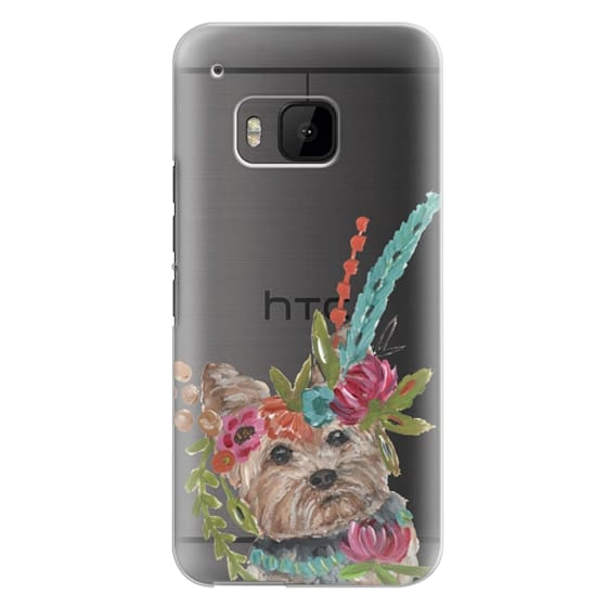 Htc One M9 Cases - Yorkie by Bari J. Designs