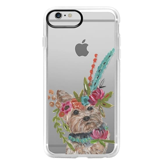 iPhone 6 Plus Cases - Yorkie by Bari J. Designs