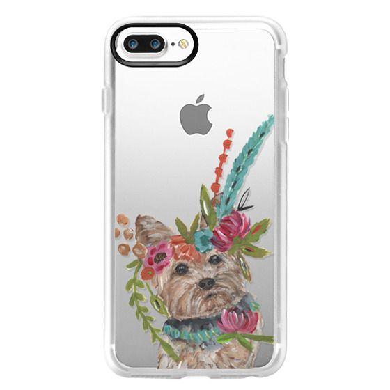 iPhone 7 Plus Cases - Yorkie by Bari J. Designs