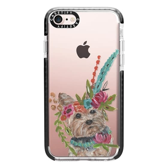 iPhone 7 Cases - Yorkie by Bari J. Designs