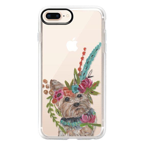 iPhone 8 Plus Cases - Yorkie by Bari J. Designs