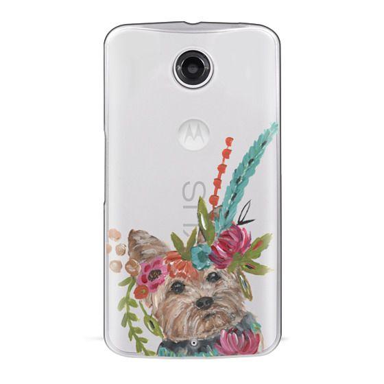 Nexus 6 Cases - Yorkie by Bari J. Designs