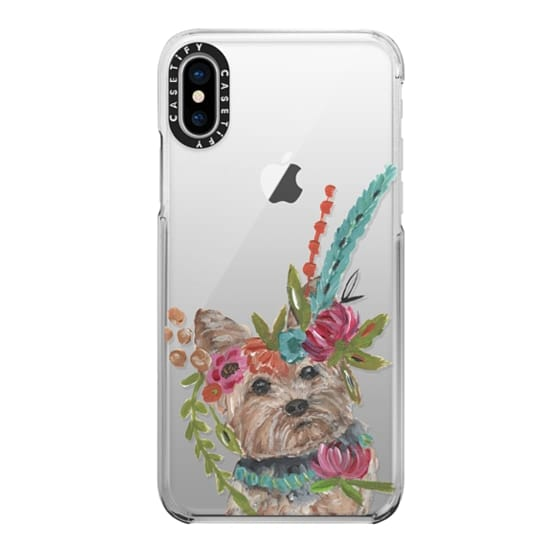 iPhone X Cases - Yorkie by Bari J. Designs