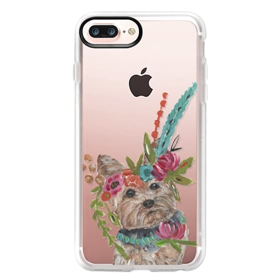 iPhone 7 Plus Cases - Yorkie by Bari J. Designs