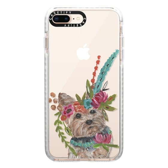 iPhone 8 Plus Cases - Yorkie by Bari J. Designs