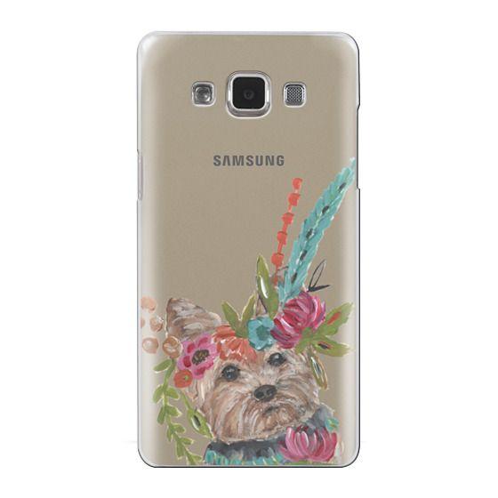 Samsung Galaxy A5 Cases - Yorkie by Bari J. Designs