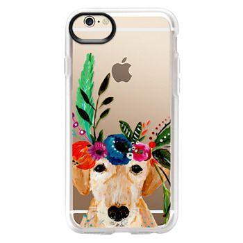 Grip iPhone 6 Case - Bari J. Designs Boho Labrador