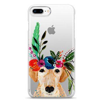 Snap iPhone 7 Plus Case - Bari J. Designs Boho Labrador