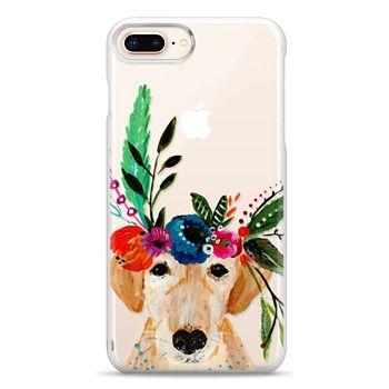 Snap iPhone 8 Plus Case - Bari J. Designs Boho Labrador