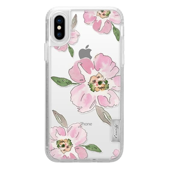 iPhone X Cases - Pink Blossoms