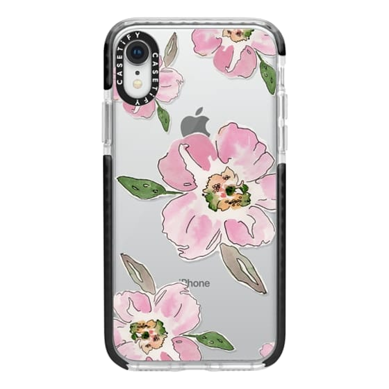 iPhone XR Cases - Pink Blossoms