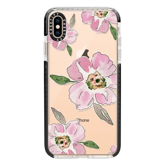 iPhone XS Max Cases - Pink Blossoms