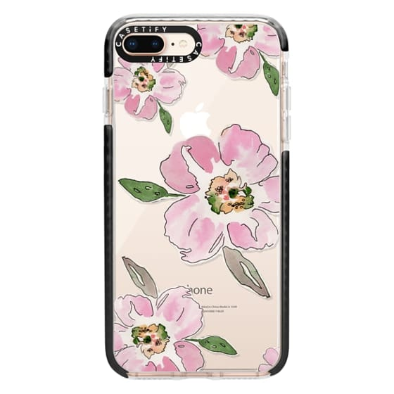 iPhone 8 Plus Cases - Pink Blossoms