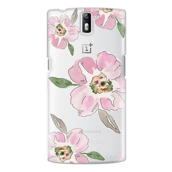 One Plus One Cases - Pink Blossoms