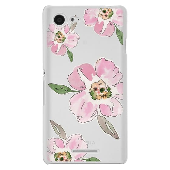 Sony E3 Cases - Pink Blossoms