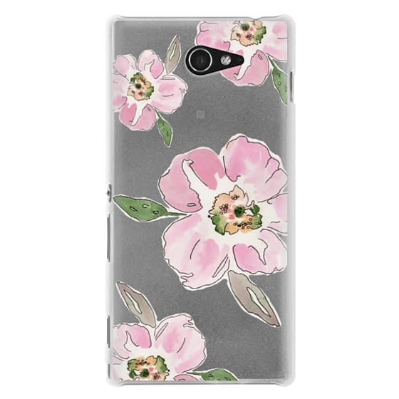 Sony M2 Cases - Pink Blossoms
