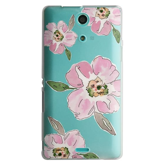 Sony Zr Cases - Pink Blossoms
