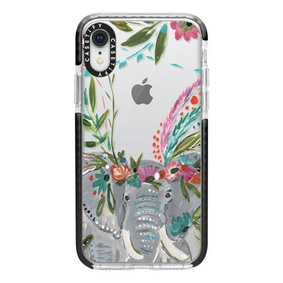iPhone XR Cases - Boho Elephant II by Bari J. Designs