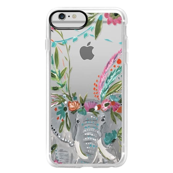 iPhone 6 Plus Cases - Boho Elephant II by Bari J. Designs