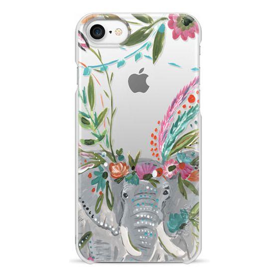 iPhone 7 Cases - Boho Elephant II by Bari J. Designs