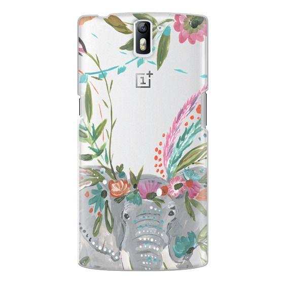 One Plus One Cases - Boho Elephant II by Bari J. Designs