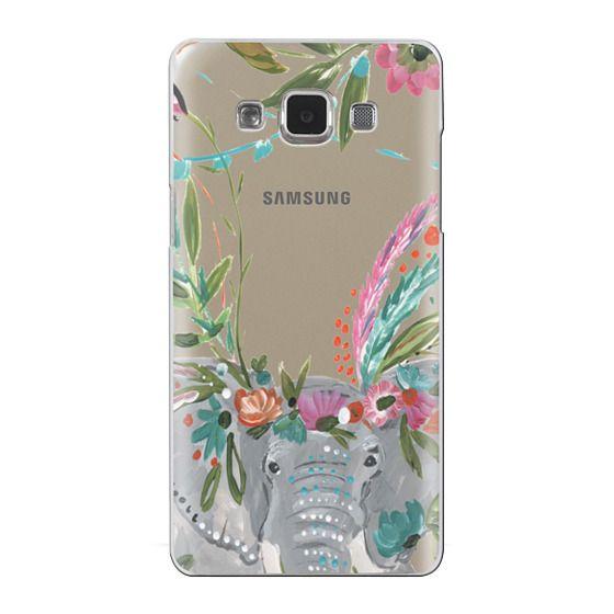 Samsung Galaxy A5 Cases - Boho Elephant II by Bari J. Designs