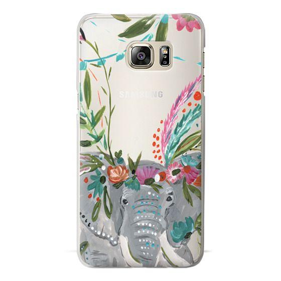 Samsung Galaxy S6 Edge Plus Cases - Boho Elephant II by Bari J. Designs