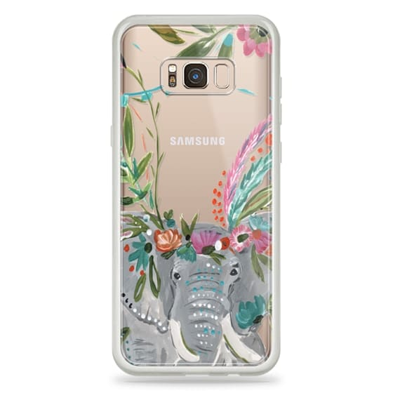 Samsung Galaxy S8 Plus Cases - Boho Elephant II by Bari J. Designs