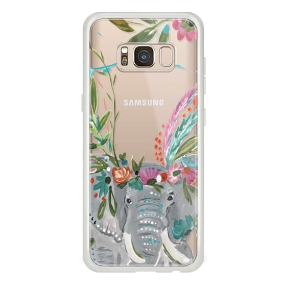 Samsung Galaxy S8 Cases - Boho Elephant II by Bari J. Designs