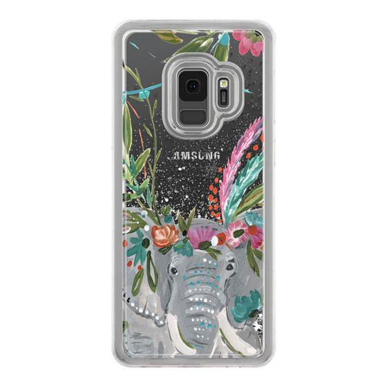 Samsung Galaxy S9 Cases - Boho Elephant II by Bari J. Designs