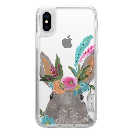 iPhone X Cases - Boho Bunny Rabbit