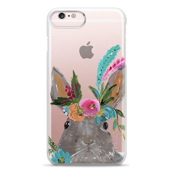 iPhone 6s Plus Cases - Boho Bunny Rabbit