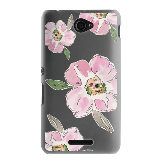 Sony E4 Cases - Pink Blossoms