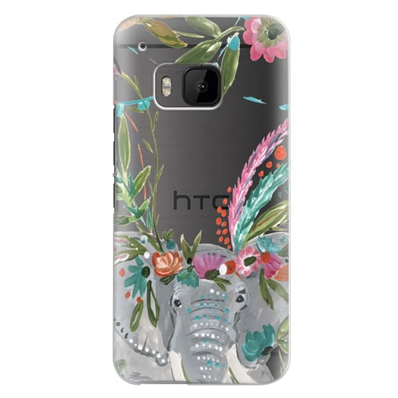 Htc One M9 Cases - Boho Elephant II by Bari J. Designs